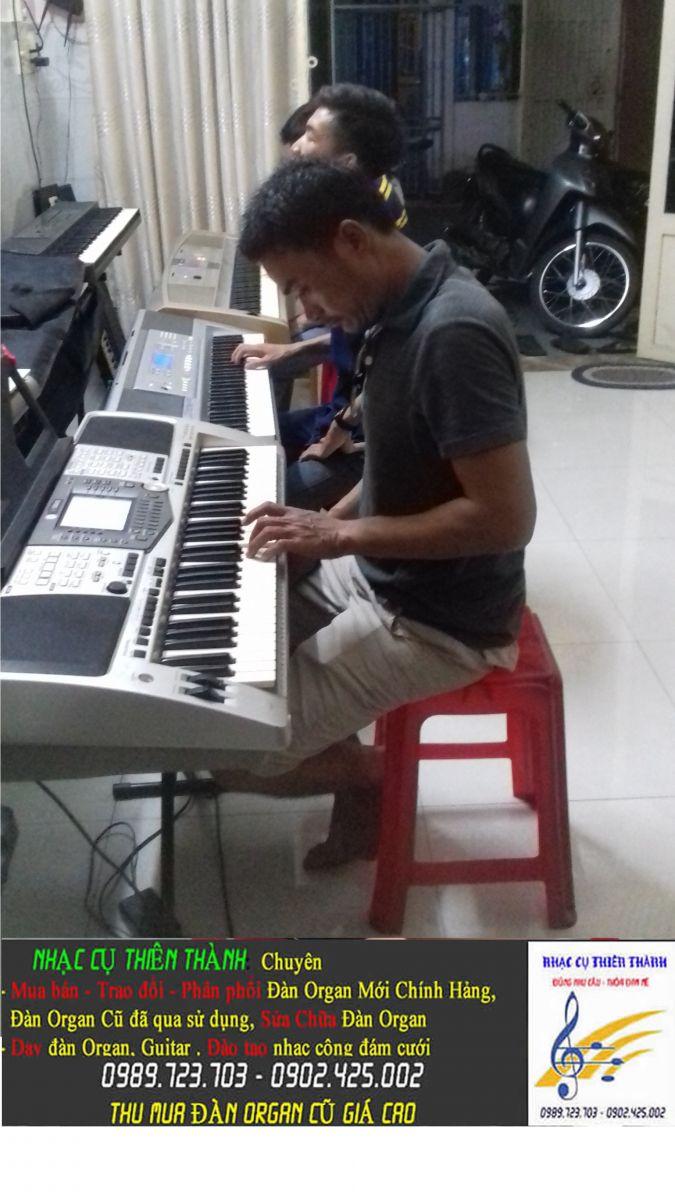 Trung tâm dạy nhạc tại TpHcm  dạy đệm đàn Organ cấp tốc phong cách cảm âm đám cưới giá rẻ quận 12