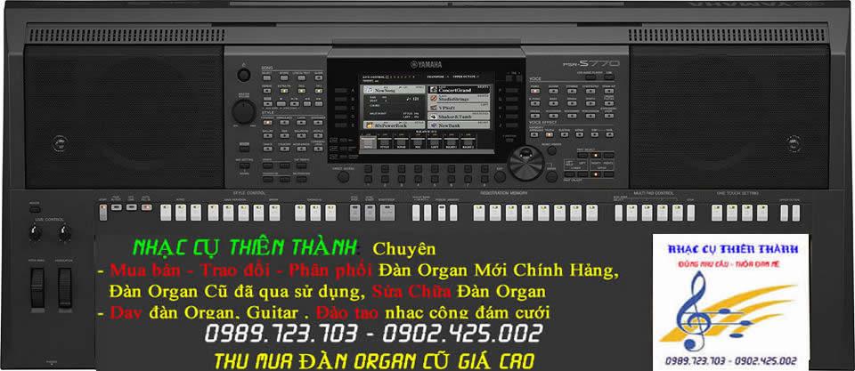 Đàn Organ Yamaha Psr S770 Mới Chính Hảng