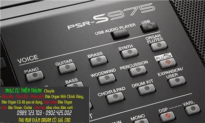Đàn organ Yamaha Psr S975 Mới Chính Hảng