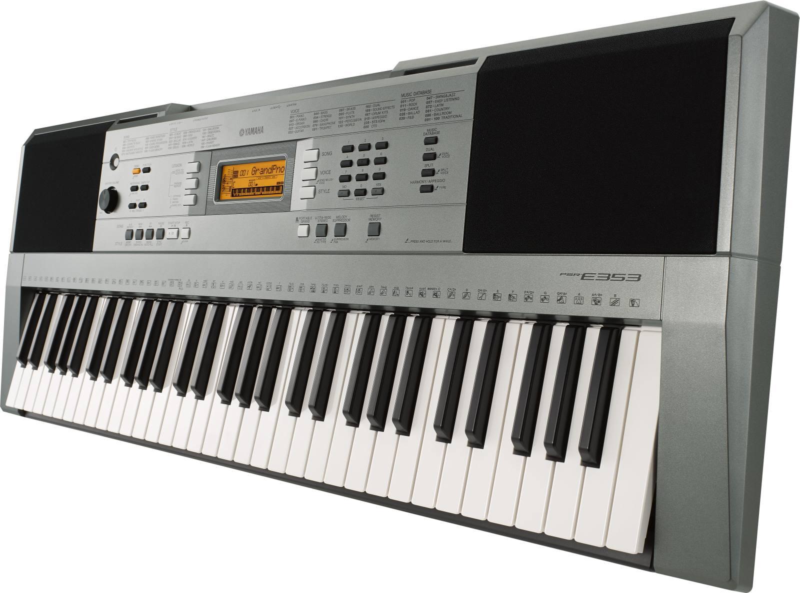 Đàn Organ Yamaha PSR E353 mới chính hảng
