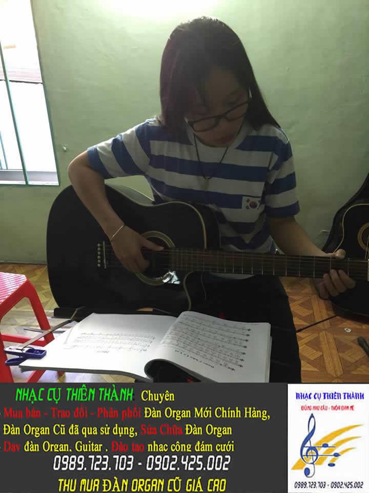 Dạy đàn guitar tại quận 12 tphcm - đường Tô Ký - P. Đông Hưng Thuận