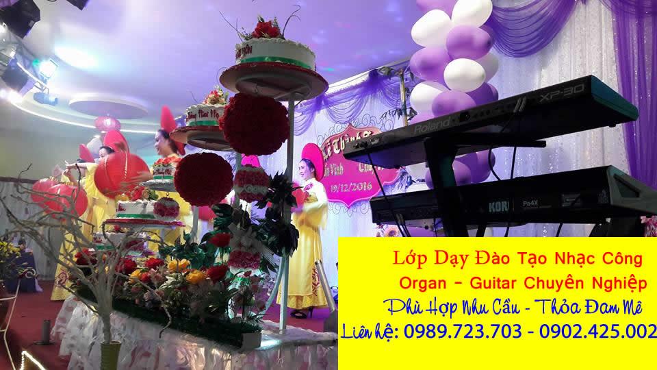 Dạy đào tạo nhạc công đàn organ đám cưới tại đường Nguyễn Văn Quá, Quận 12, TpHcm