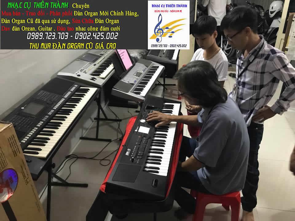 Trung tâm dạy nhạc tại TpHcm | dạy đệm đàn Organ cấp tốc phong cách cảm âm đám cưới giá rẻ quận 12
