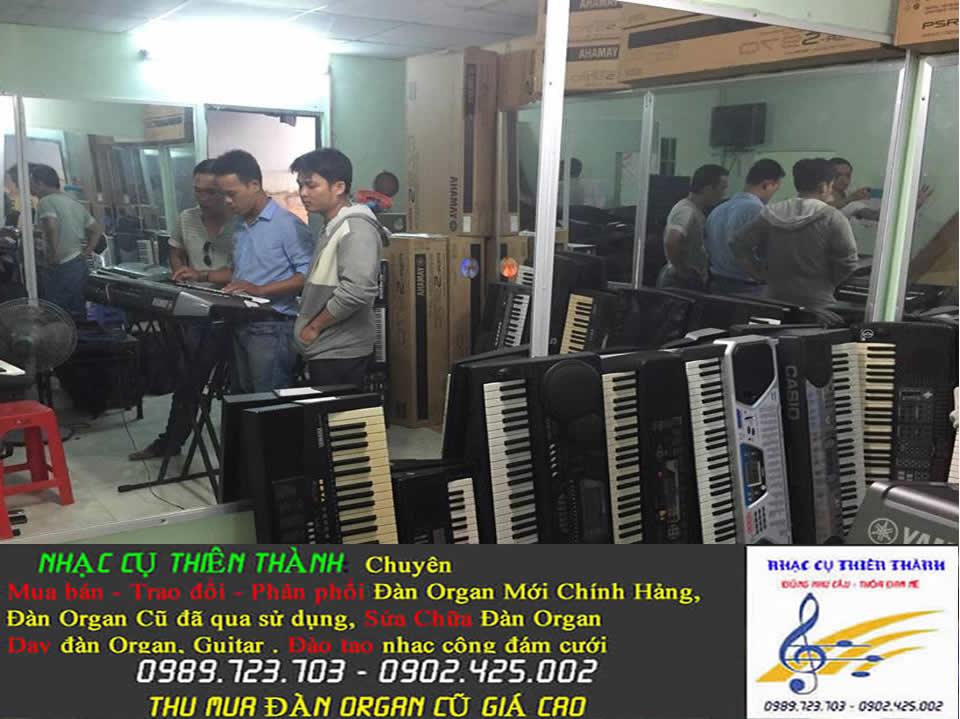 Cần mua đàn Organ cũ đã qua sử dụng giá cao tại Quận 12 TpHcm